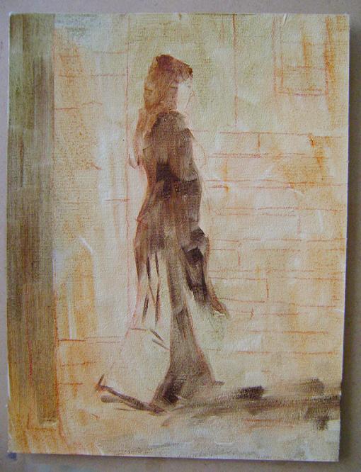 Fatih Karakaş: Aşamalı yağlı boya resim- 3. Aşama-2009