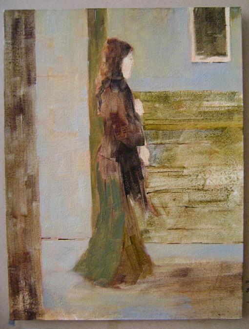Fatih Karakaş: Aşamalı yağlı boya resim- 4. Aşama-2009