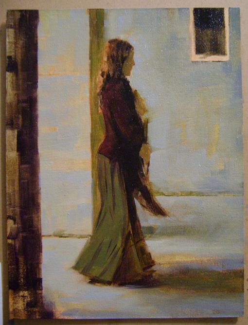 Fatih Karakaş: Aşamalı yağlı boya resim- 6. Aşama-2009