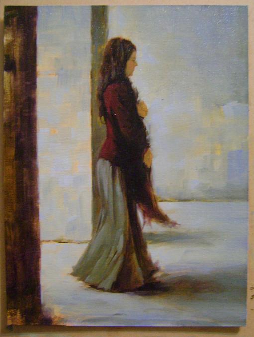 Fatih Karakaş: Aşamalı yağlı boya resim- 8. Aşama-2009