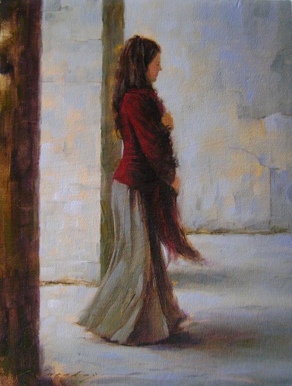 Fatih Karakaş: Aşamalı yağlı boya resim- 9. Aşama-2009