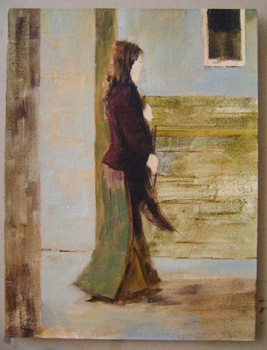Fatih Karakaş: Aşamalı yağlı boya resim- 5. Aşama-2009