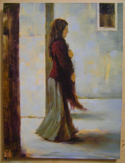 Fatih Karakaş: Aşamalı yağlı boya resim- 7. Aşama-2009