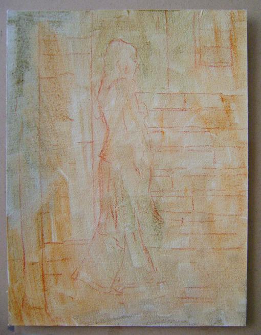 Fatih Karakaş: Aşamalı yağlı boya resim- 2. Aşama-2009