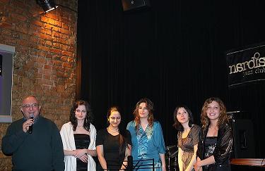 Nardis Jazz Clup 5. Genç vokalistler yarışması 2009 finalistleri